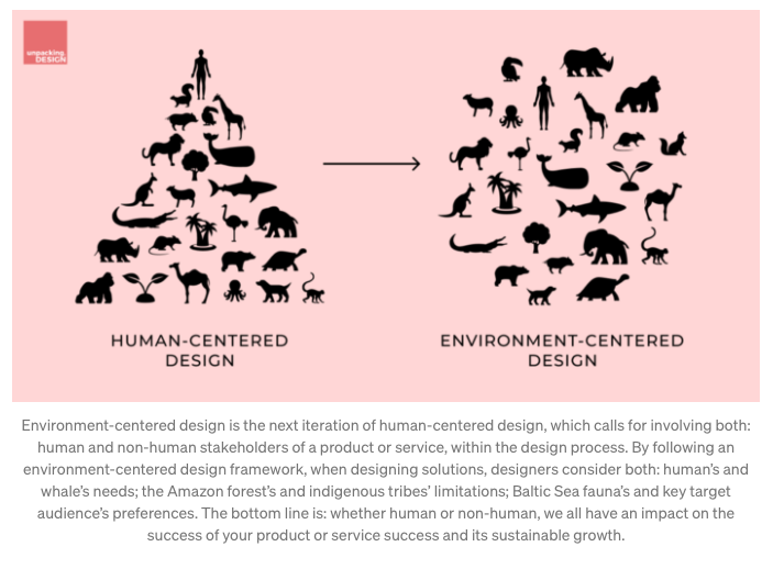 human-centered and nature-centered